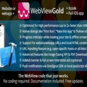 اپلیکیشن WebViewGold برای iOS