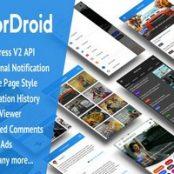 اپلیکیشن WorDroid – Full Native WordPress Blog App برای وردپرس