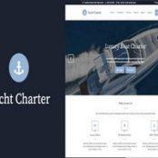 قالب یات چارتر Yacht Charter پوسته تور و گردشگری وردپرس