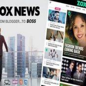 قالب زوکس نیوز Zox News پوسته مجله ای و خبری وردپرس
