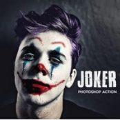 اکشن فتوشاپ صورت جوکر  Joker – Photoshop Action