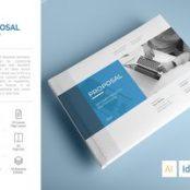 طرح پروپوزال شرکتی و سازمانی A5 Proposal