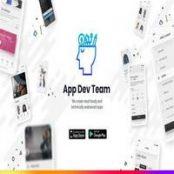 افترافکت ویدئوی تبلیغ اپلیکیشن و نرم افزار App Development Promo