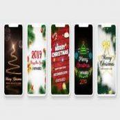 افترافکت استوری کریسمس اینستاگرام Christmas Stories