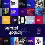 افتر افکت Creative Animated Typography