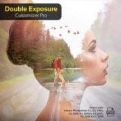 اکشن فوتوشاپ Double Exposure Customizer Pro – Photoshop Action