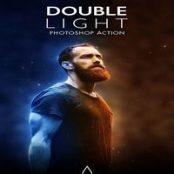اکشن فوتوشاپ Double Light Photoshop Action