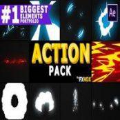 افتر افکت Dynamic Elements Pack   After Effects