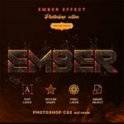 اکشن فتوشاپ  Ember Effect – Photoshop Action