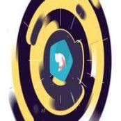 افترافکت نمایش لوگو Flat Colorful Logo Animation