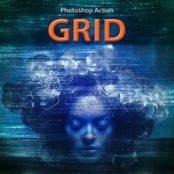 اکشن فوتوشاپ Grid