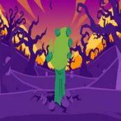افترافکت نمایش لوگو به سبک انیمیشن Halloween Cartoon Logo
