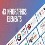 افترافکت Infographics – 43 Elements