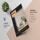 بروشور دکوراسیون داخلی Interior Design Brochure