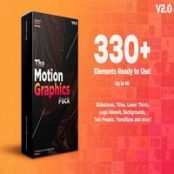 افتر افکت Motion Graphics Pack V2