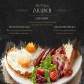 دانلود پروژه افتر افکت رستوران تیزر تبلیغاتی غذای فست فود و رستوران