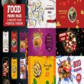 افتر افکت تیزر تبلیغاتی رستوران Restaurant Promo Pack