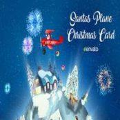 افتر افکت اپنر Santas Plane Christmas Card