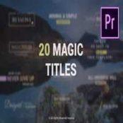 دانلود Essential / Minimal Simple Titles Pack for Premiere Pro