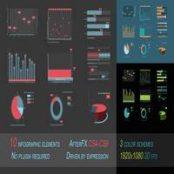 افتر افکت اینفوگرافیک Infographics