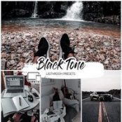 پریست لایتروم  Black Tone Lightroom Presets