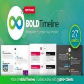 افزونه Bold Timeline برای وردپرس