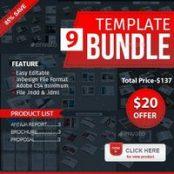 پک طرح بروشور Brochure Bundle Pack