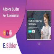 افزونه E.Slider برای المنتور