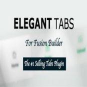 افزونه Elegant Tabs برای فیوژن بیلدر و آوادا