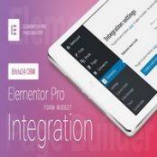 افزونه Form Widget – Bitrix24 CRM برای المنتور
