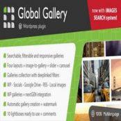 افزونه گلوبال گالری Global Gallery برای وردپرس
