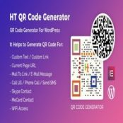 افزونه HT QR Code Generator برای وردپرس