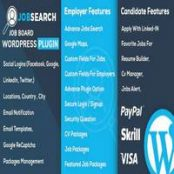 افزونه JobSearch برای وردپرس