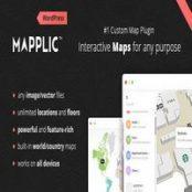 افزونه Mapplic برای وردپرس