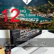 پریست لایتروم  ۱۲ HQ Tilt-Shift+Color Presets