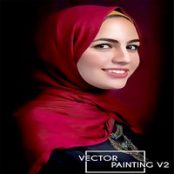 اکشن فوتوشاپ نقاشی Vector Painting V2 Photoshop Action
