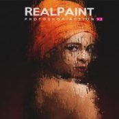 اکشن فتوشاپ Real Paint V.2 – Photoshop Action