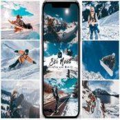 پریست لایتروم موبایل و دسکتاپ Ski Mood Presets