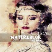 اکشن فتوشاپ آبرنگ Sensation – Watercolor Photoshop Action