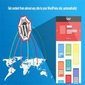 افزونه WP Content Crawler برای وردپرس