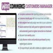 افزونه WooCommerce Customers Manager