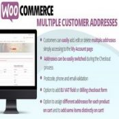 افزونه WooCommerce Multiple Customer Addresses