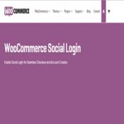 افزونه WooCommerce Social Login