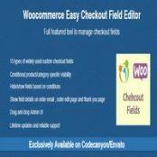 افزونه Woocommerce Easy Checkout Field Editor