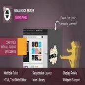 افزونه Off-Canvas Sliding Panel — Ninja Kick برای وردپرس