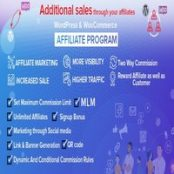 افزونه WordPress & WooCommerce Affiliate Program