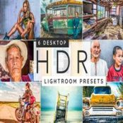 پریست لایتروم HDR Lightroom desktop presets