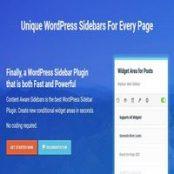 افزونه Content Aware Sidebars Pro برای وردپرس