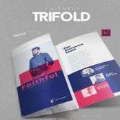 بروشور ایندیزاین Faithful Trifold