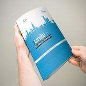بروشور سه لت ۳xA4 Unite Trifold Brochure